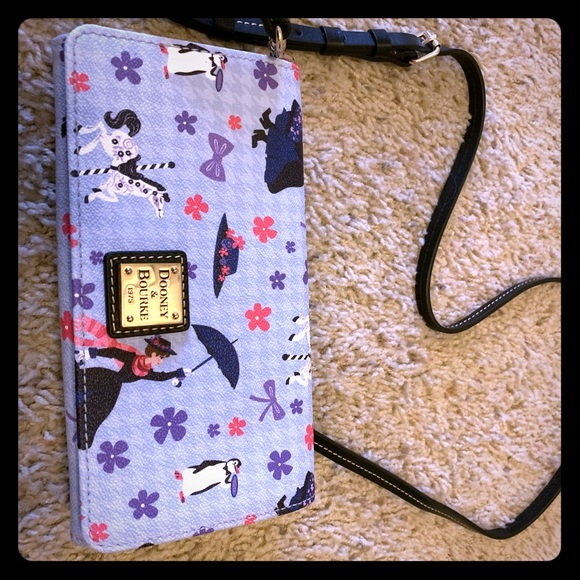 Dooney & Bourke Handbags - Disney Mary Poppins Dooney Crossbody Wallet